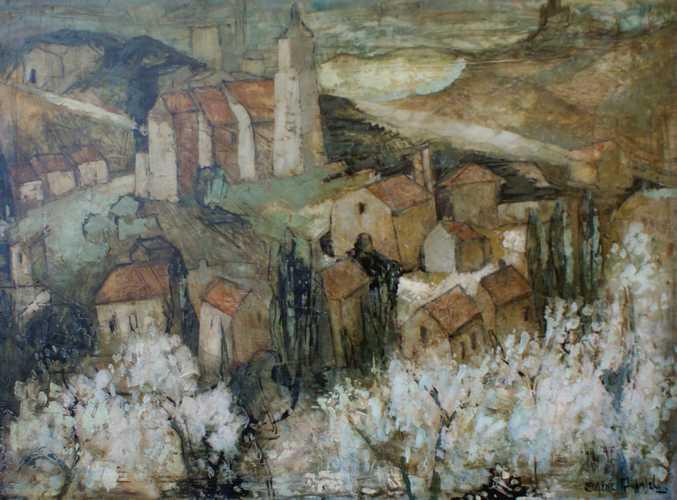 Landschap in Zuid-Frankrijk