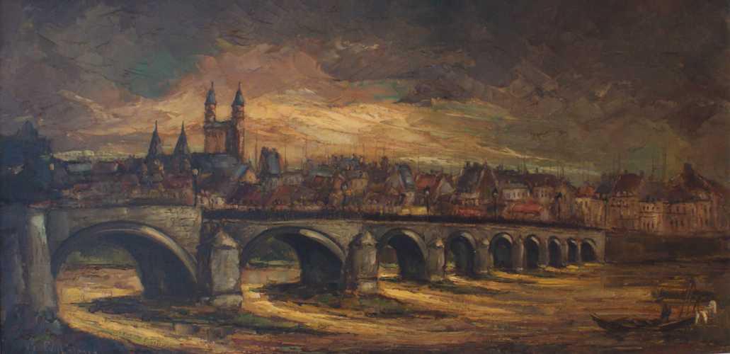 Oude St. Servaas brug Maastricht