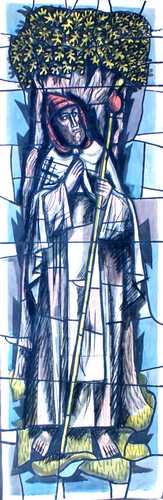 Sint Gerlachus op bedevaart