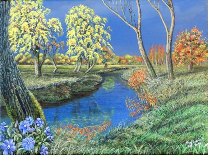 Herfst langs de Vloedgraaf