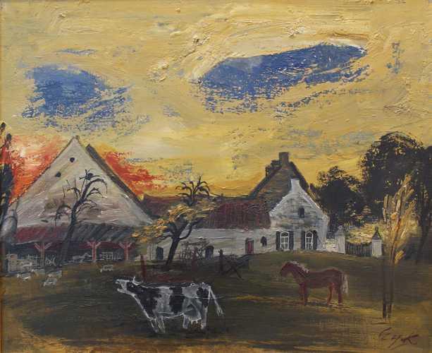 Zonsondergang in Limburg