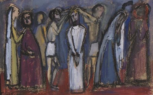Christus krijgt zijn doornenkroon