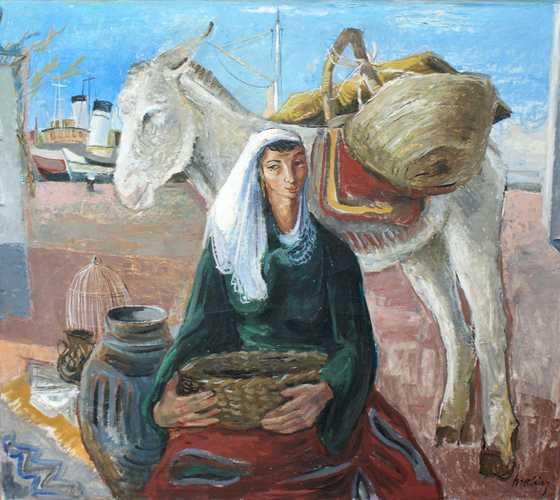 Vrouw in Siresa