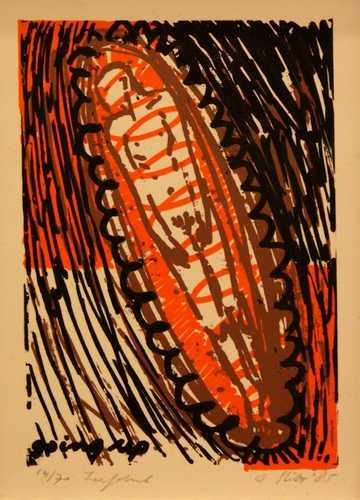 Man in kajak, 54/70