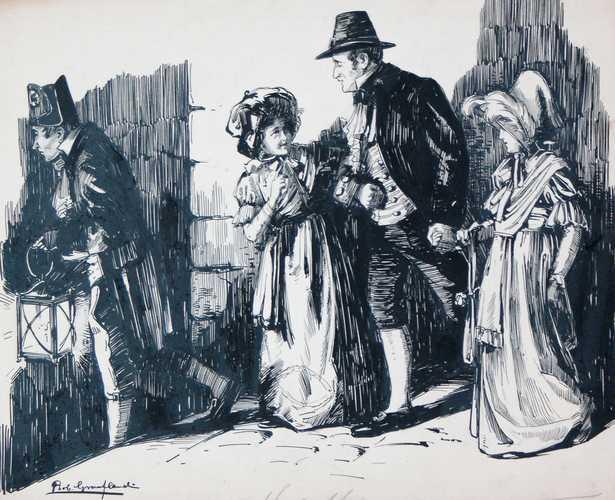 1813, VI- De knecht ging met een lantaarn vooruit