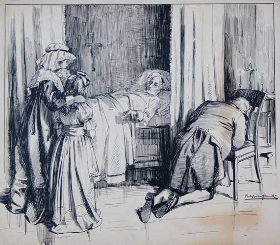 1813, XII- Daar is Klaartje, moeder